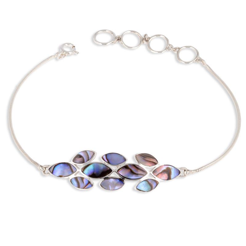 MOTHER OF PEARL BRACELETS NATURAL COLOR