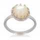 Citrine solitaire ring