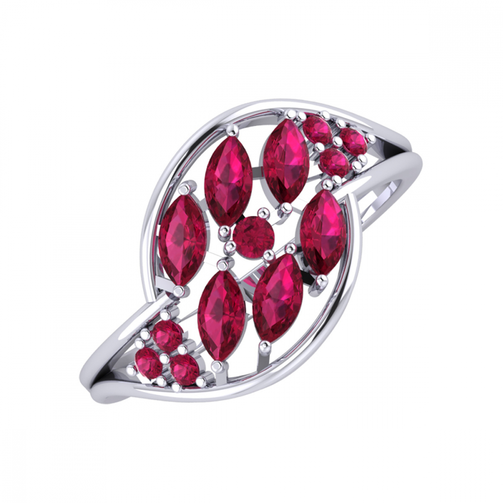 Gold Ruby Ring 1.88grs