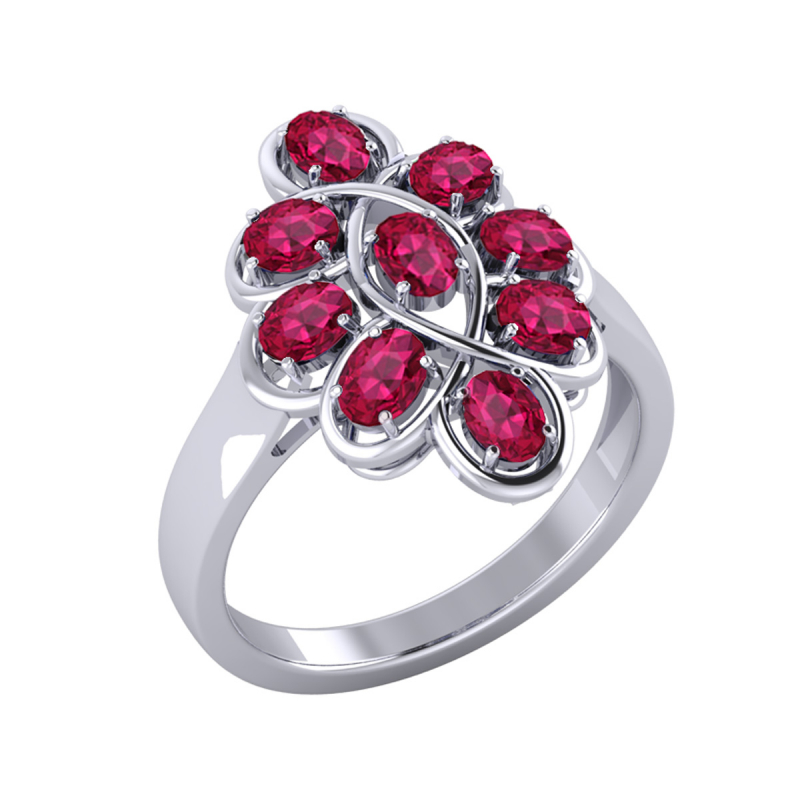 Gold Ruby Ring 4.38grs