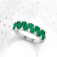 Gold Emerald Diamonds Ring 1.32grs